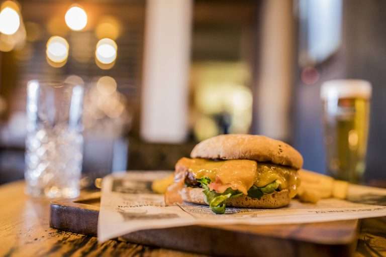 Grillbar Ruig Katwijk hamburger